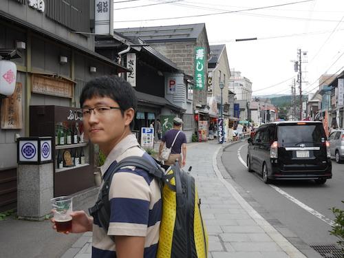 오타루 사카이마치 거리